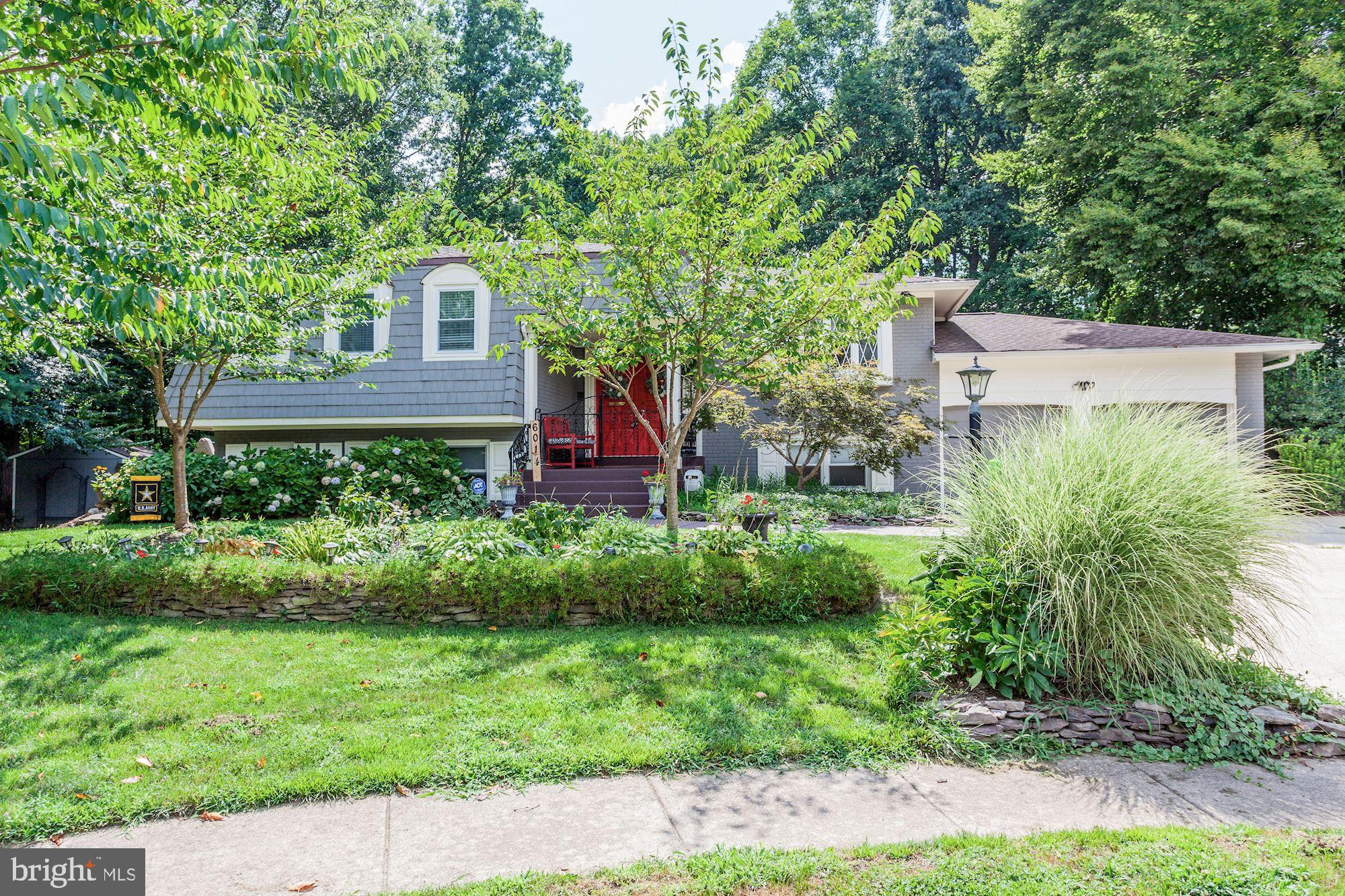 Welcome home to this stunning split-level on a secluded cul-de-sac in West Springfield. Enjoy the great outdoor space with a large deck & patio that overlook a sparkling in-ground pool.  This private oasis overlooks a serene wooded setting complete with a creek bordering the property. The eat-in kitchen has ALL NEW stainless steel appliances, & opens to a formal dining room.  Custom crown molding and pristine hardwoods throughout main level spill into a large, light-filled sitting room. The spacious downstairs offers a large family room with a cozy, rock fireplace, and includes bonus space for a playroom and office. Both basement family room & large laundry room offer walk-out access to the backyard patio. Marble flooring takes you upstairs to the master suite, boasting his and her closets, along with a luxurious master bath with jetted spa tub. Upgrades include a NEW instant hot water heater, a new roof in 2018, fresh paint, crown moldings, stunning doorway casings, and plantation shutters.  Welcome home!
