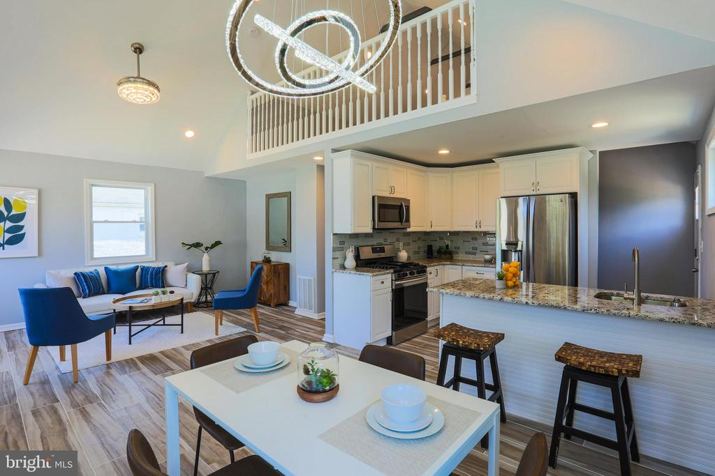 One of a kind, beautiful ranch home in the historic Ashburton neighborhood! Gourmet, chef's kitchen with ss appliances, breakfast bar, intricate backsplash and granite counters! Luxurious master suite you must see to believe, modern and stylish bathroom with his and hers vanity, large walk in closet, feel like you're living in a 5 star hotel every night! Bonus upper level loft, perfect for an office or playroom! Breathtaking chandelier in dining room, freshly painted, new carpet, washer and dryer, vaulted ceilings, and so much more! Deck off kitchen is a perfect place to entertain family and friends! This is an absolute must see home!