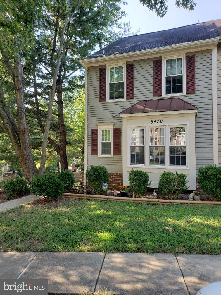 Act fast on this end-of-row townhome in Springfield.  Open Kitchen, BRAND NEW stainless steel appliances, Dining Room, step down Living Room with French doors that open to deck.  Wood burning fireplace in Family Room with sliding glass doors to patio.  Rough-in for second bathroom in basement.  Enjoy the view of the koi pond and the privacy of the fence.   Minutes from Belvoir, I-95, and VRE. EIGHT brand new windows to be installed by 8/27.