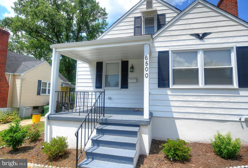MOTIVATED SELLER!  This lovely 4 bedroom, 3 full bath home located on quiet street.  Recently renovated -  New Roof, Windows,exterior doors, water heater, HVAC. Stainless steel appliances, granite counters, new cabinetry, new tile floor, in kitchen. New wood floor in living room and dining rm.  Recently waterproofed and landscaped.  Covered front porch to enjoy relaxing evenings -  Pack your bags and get ready to call this HOME!