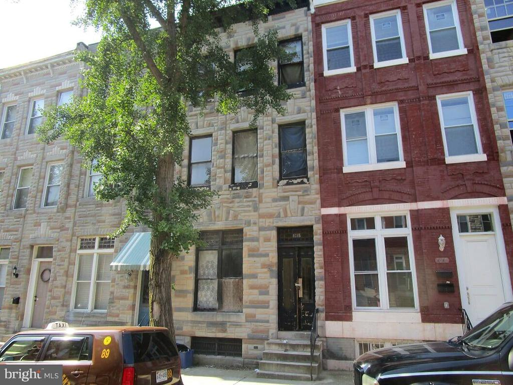 Wonderful opportunity to own this brick rowhome in Harlem Park neighborhood. Enjoy spacious room sizes, full basement and ample rear yard.  Great location - easy access to shopping, transportation and commuter routes. Just few minutes to Downtown Baltimore.