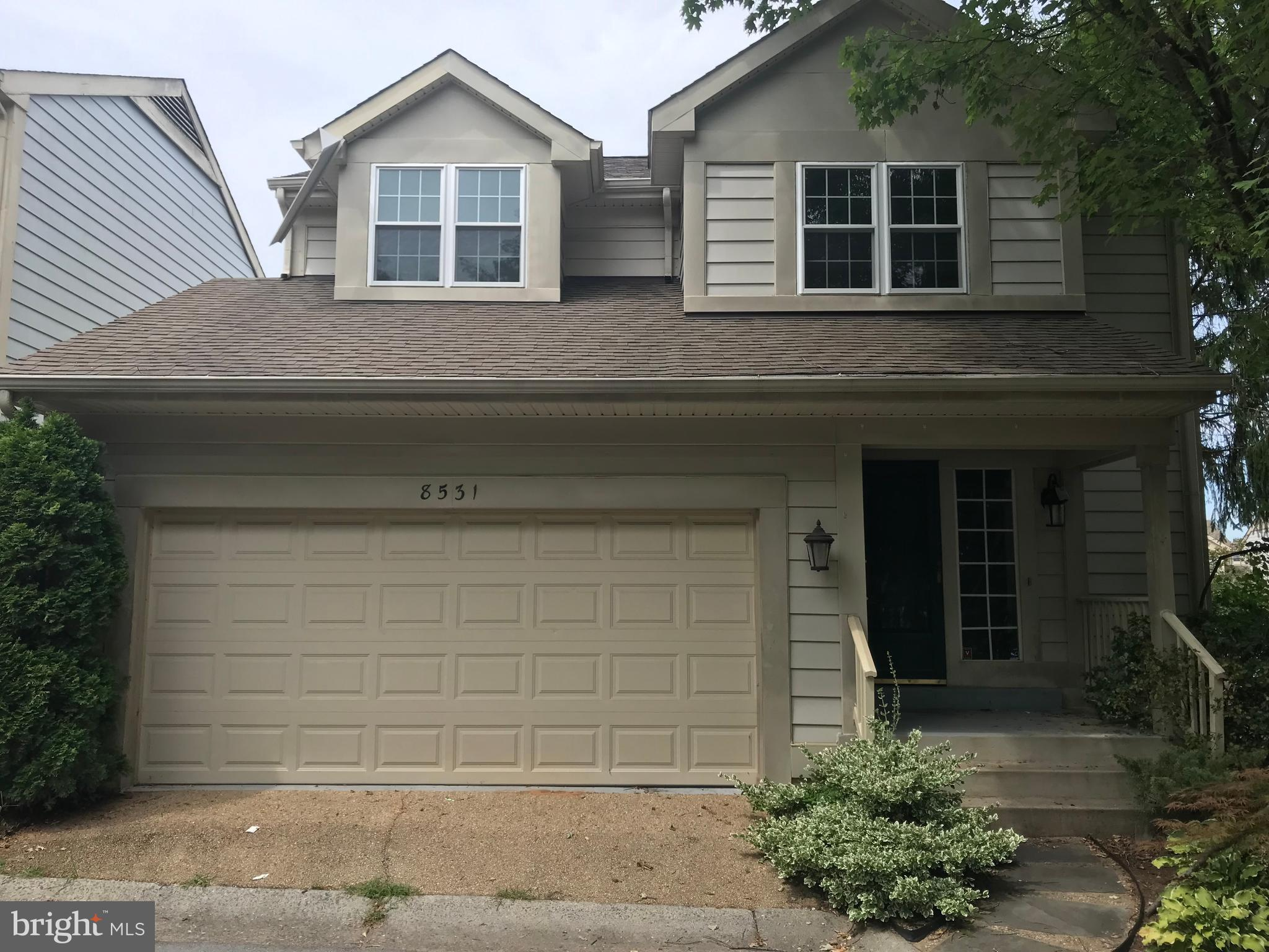 8531 TINDAL SPRINGS DRIVE, MONTGOMERY VILLAGE, MD 20886
