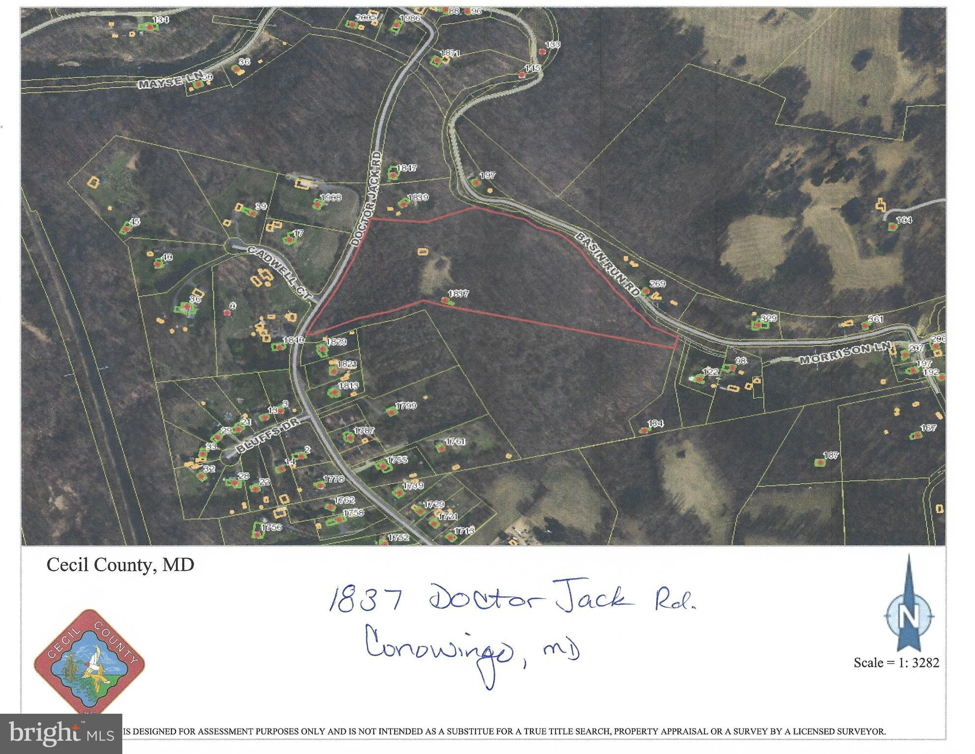 1837 DOCTOR JACK ROAD, CONOWINGO, MD 21918