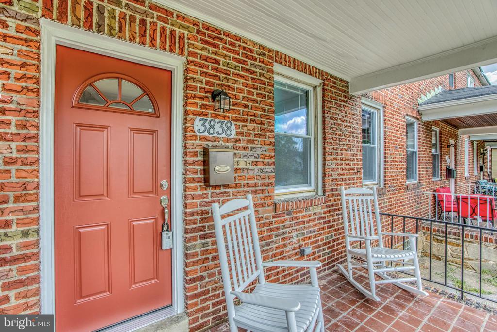 Beautifully renovated 3 bedroom, 2 bathroom row home in Dolfield neighborhood of Baltimore City. Close proximity to shopping, public transport and main roads. Kitchen boasts new cabinetry, stainless steel appliances, granite countertops and island for additional storage and counter space. Hardwood throughout main floor into Living Room. 2nd floor features 3 bedrooms, with wall to wall carpeting and shared full bathroom. Basement features 2nd full bathroom, storage and large recreation room. Come and check it out. Won't last long!!!