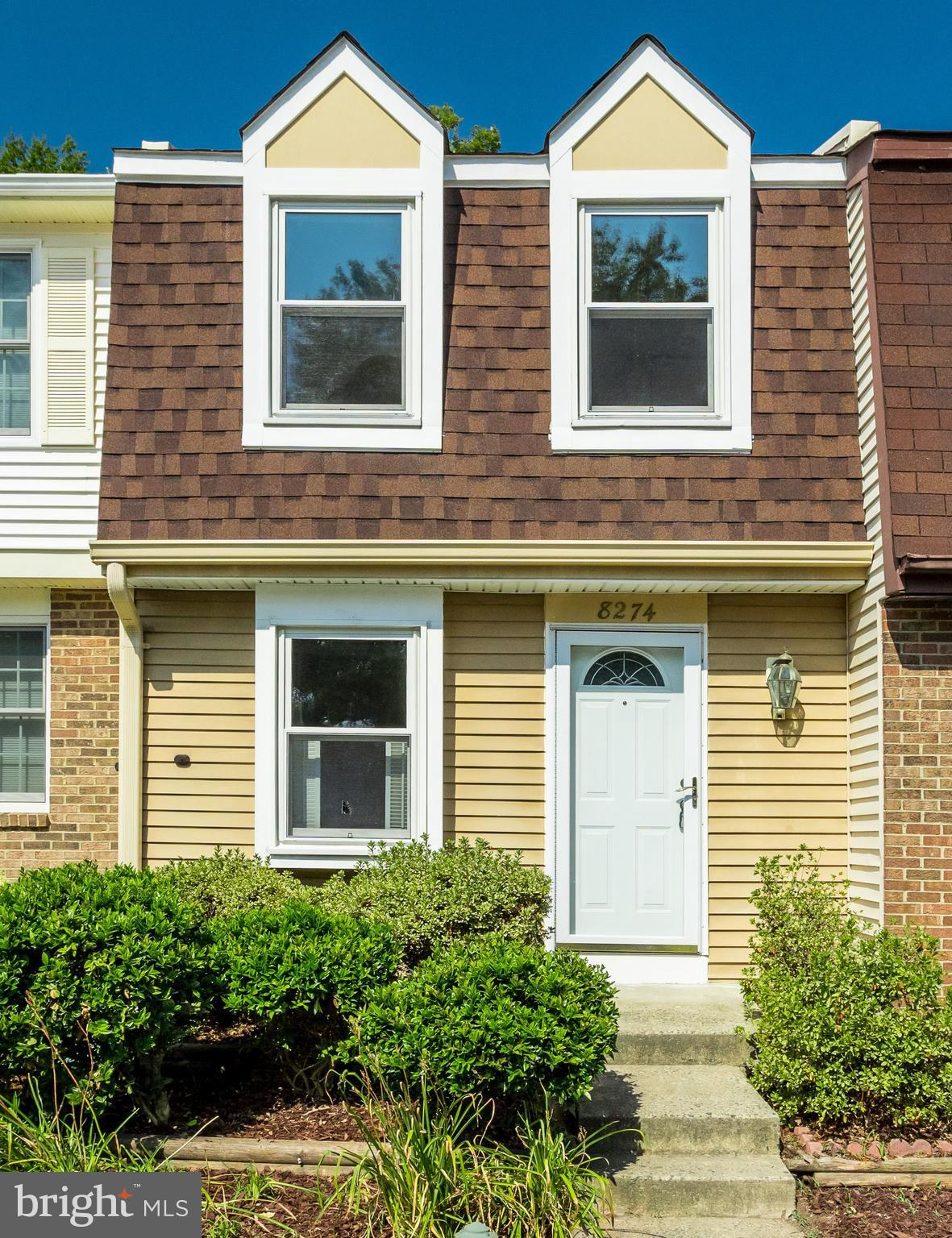 Fabulous 3 Level Townhome Backing to Trees and Access to Common Area. Offers a Full Kitchen with Updated Cabinets, Plenty of Counter Space, a Pantry, and Pass-thru to Dining Room. Living Room has Wood Burning Fireplace. Brand New Carpeting Throughout. Freshly Painted. Master Bedroom Features Large Closet, Built-in Vanity and Private Entrance to Dual Entry Full Bath. Second Bedroom Features Built-in Bookcase.  Fully Finished Lower Level Family Room had Door to Fenced-in Back Yard with Deck, Storage Shed, and Gate to Common Area. Plenty of Windows to Let in Lots of Light.  Brand New Roof, HVAC, and Washer ~ All the Expensive Stuff! Close to Springfield Metro, Fairfax County Pkwy, I-95, Metrobus Stops. Lots of Community Amenities: Pool, Tennis Courts, Tot Lots, Jogging Paths and More! Excellent Fairfax County Schools in South County Pyramid!