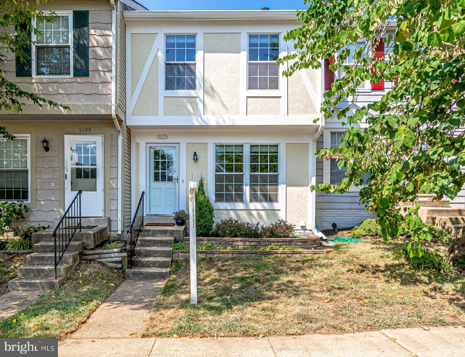 *JUST LISTED*  Ideal location close to all commuter routes, Ft. Belvoir, shopping and restaurants in coveted Kingstowne.  Meticulously maintained 3-level townhouse features 2 bedrooms, 1 full and 2 half bathrooms. Upgrades galore allow new owner to move right in and enjoy the rest of summer with all the amenities this area has to offer.  Hardwood floors (first level and upper staircase), newer windows, newer roof, newer gutters, granite counter tops, quality SS appliances, deck, finished basement leading to fenced private patio, freshly painted main and top floor in neutral colors, alarm system, reserved parking spot #4.  Welcome Home! Open House Saturday 12:00 PM - 2:00 PM and on Sunday 2:00 PM - 4:00 PM