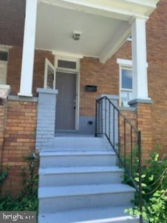 Remarkable Renovation to this existing Baltimore Row home. Property features hardwood floors, granite countertops, tile flooring, and two full baths. Property was reconfigured for a more contemporary look and feel.