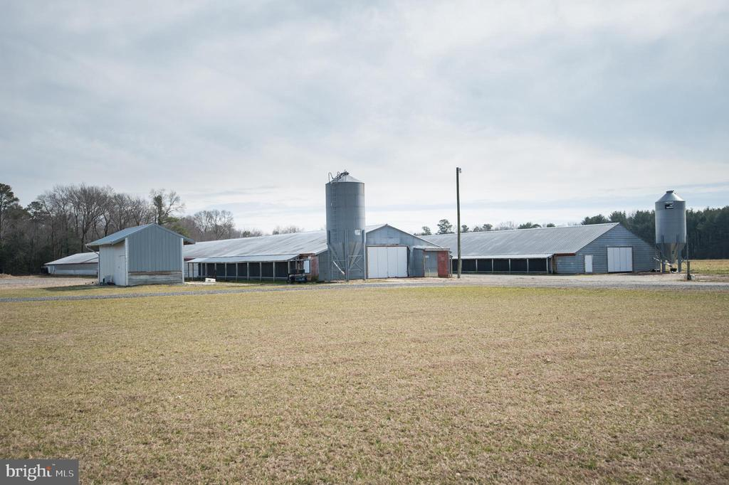 Poultry farm with two chicken house - 38,400 broiler capacity growing for Allen.  Sweet property with 6.6 acres +/- improved with a 3 bedroom, 2 bath home built in 2015.  Generator, manure shed and implement shed.  Owner is a licensed Realtor.