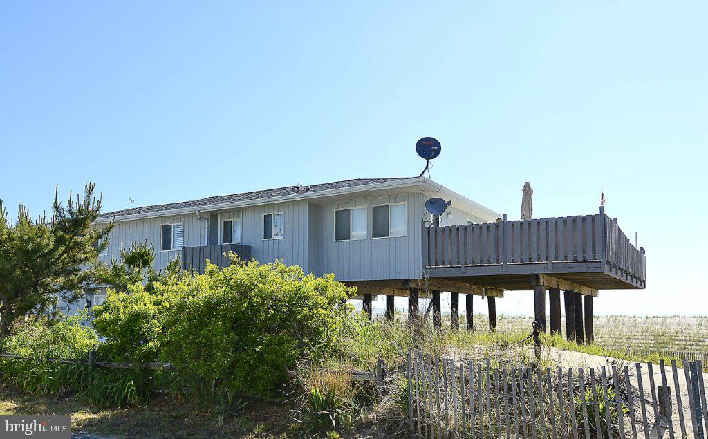 PRICE REDUCED!  Oceanfront Home is situated on 2 Lots (100x130) on the beautiful beach of South Bethany, the quiet resorts.   Or see ~Land for Sale~.  Lot 1 Northern Lot listed for $1,439,900 or Lot 2 the Southern Lot for $1,430,900.     Don~t miss your opportunity to buy Oceanfront Property.  Nothing comparable at this price point.    Contact the Town of South Bethany for building code/requirements.  This home currently brings in $45,000 Rental Income for just the summer weeks.    See attached surveys.