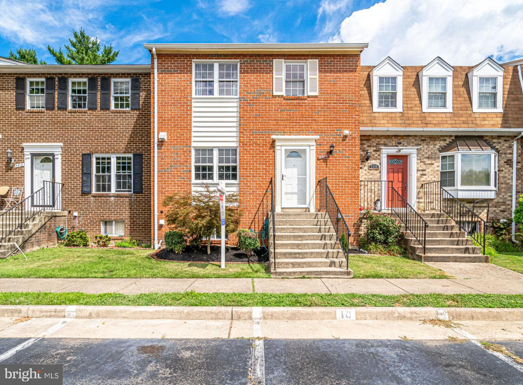 Beautifully updated brick townhome minutes from Kingstowne! Over 2,000 sq ft of finished space and move-in ready! This incredible home features 3 bedrooms, 2 full baths & 2 half baths. Kitchen completely remodeled and opened up in 2012. The kitchen features beautiful granite counters, stainless appliances, breakfast bar, slow-close cabinets, and stylish backsplash. All bathrooms updated in the last 5 years, water heater replaced in 2018, roof in 2011, and HVAC in 2008.  This home also includes a finished basement with updated half bath, spacious rec room w/fireplace, laundry, and lots of storage.  Updated flooring throughout the entire home, lots of recessed lighting, vinyl windows, and great natural light.  The outdoor features a great deck and fenced rear yard. All of this just minutes to metro, shopping, restaurants, Kingstowne Towne Center, bus stop, schools, and easy commuting routes.  Don't miss this one ~ it won't last!