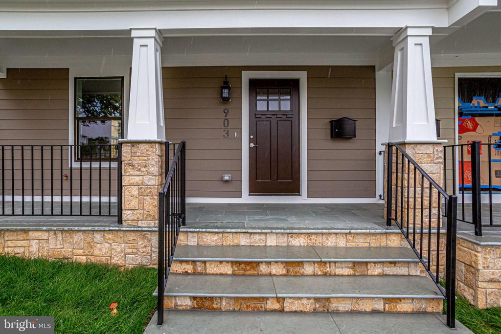 BRAND NEW CONSTRUCTION in hot Brookland !!!  5 bed rooms, 4.5 baths. Open floor plan with plenty of sun light.  Gorgeous sanded hard wood flooring. Gourmet kitchen with beautiful quartz counter tops and spacious island. Master bedroom with balcony and huge walk-in closets.  Basement with side entrance, wet bar.  2 HVAC systems.  one detached garage.  Walk to shops and restaurants. 2 blocks to Metro.  Great location for investment.