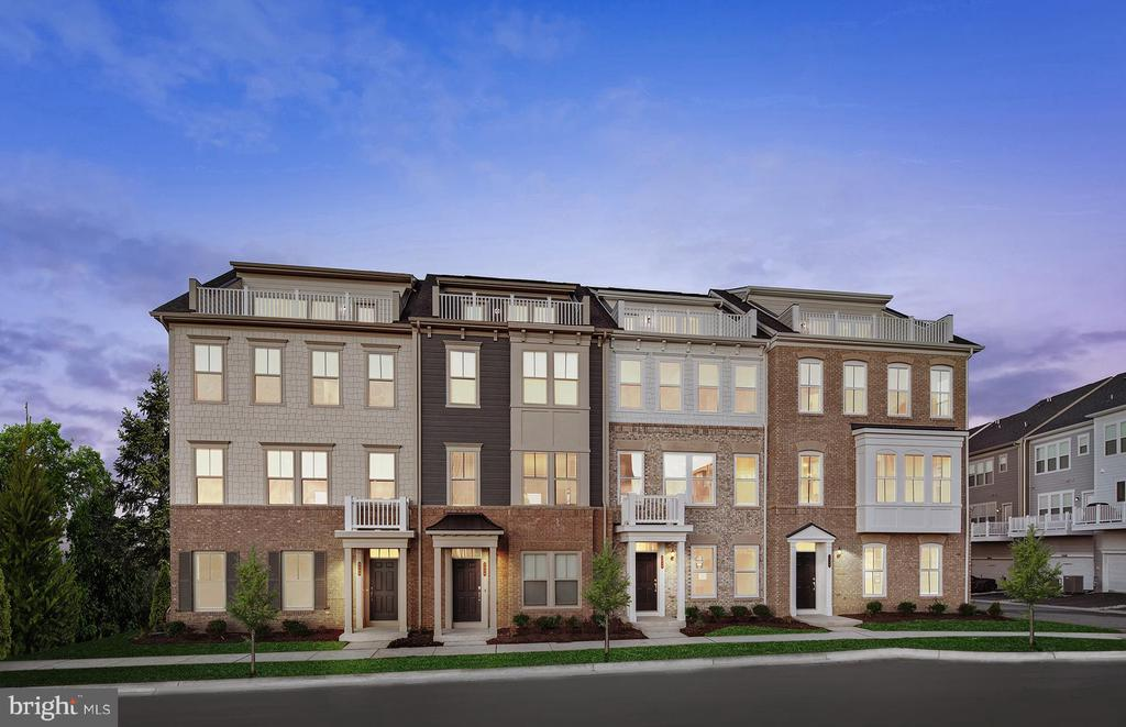 Move-in ready in January 2020! This beautiful End-Unit Townhome features 4th Level Loft and Rooftop Terrace and maintenance-free rear Deck. Enjoy cooking in the Gourmet Kitchen with Stainless Steel Appliances, painted Linen Kitchen Cabinets and gorgoeus montclair white Quartz Counters. Hardwood on Main Level and Foyer.