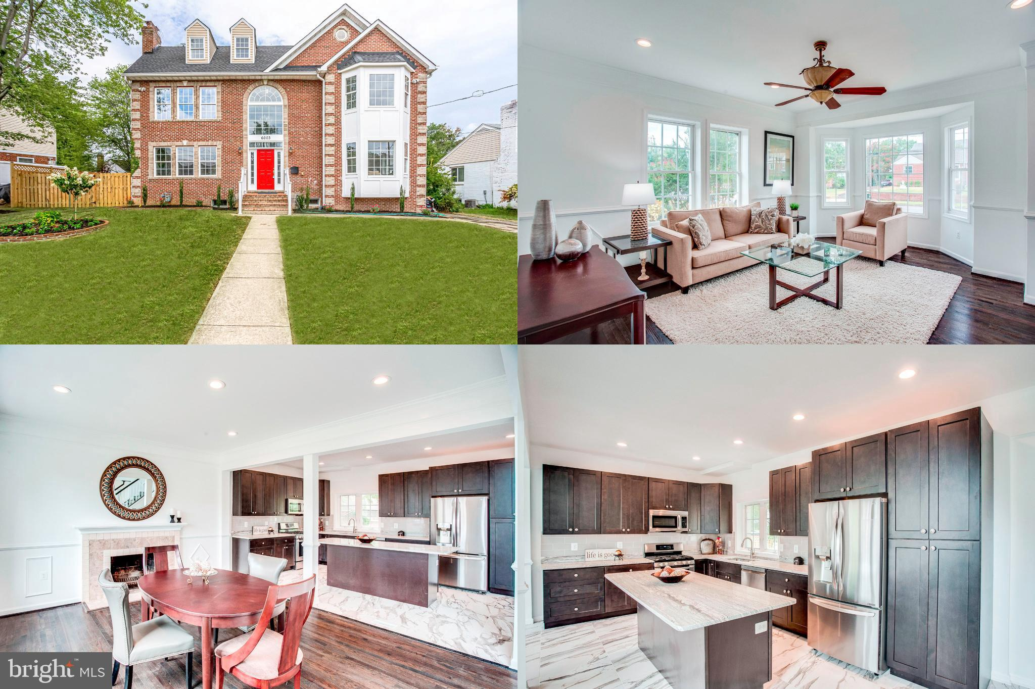 Only 3 lights from DC.. 495 and 395 appx 2miles. Need more  room????  This newly renovated home features 8 bedrooms, 5 full baths, 1 half bath, 3 living areas, Dining room, Kitchen and room for additional kitchen/laundry in basement.  Roof 2009, new 70 gallon Water Heater, 1 new AC heat pump. New windows, tile, fixtures ceiling fans, baths, kitchen, flooring, painting, carpet and tons of recessed lighting.  Conveniently located near shopping and major transportation.  If you need space under 1,000,000 then this home is for you!