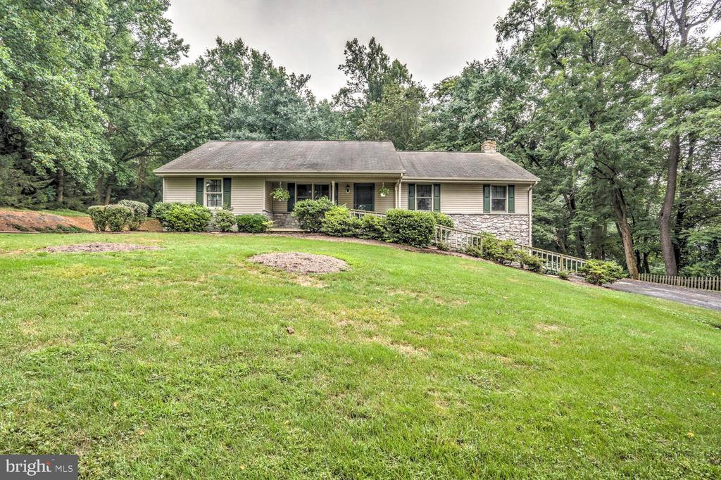 This home sits on 1.75 acres, beautiful property with lawn to play or entertain and woods to explore. Raised Ranch style home features 4 bedrooms and 2 full bathrooms. Woodstove is not hooked up, but is included in sale. Hot tub included As-Is.