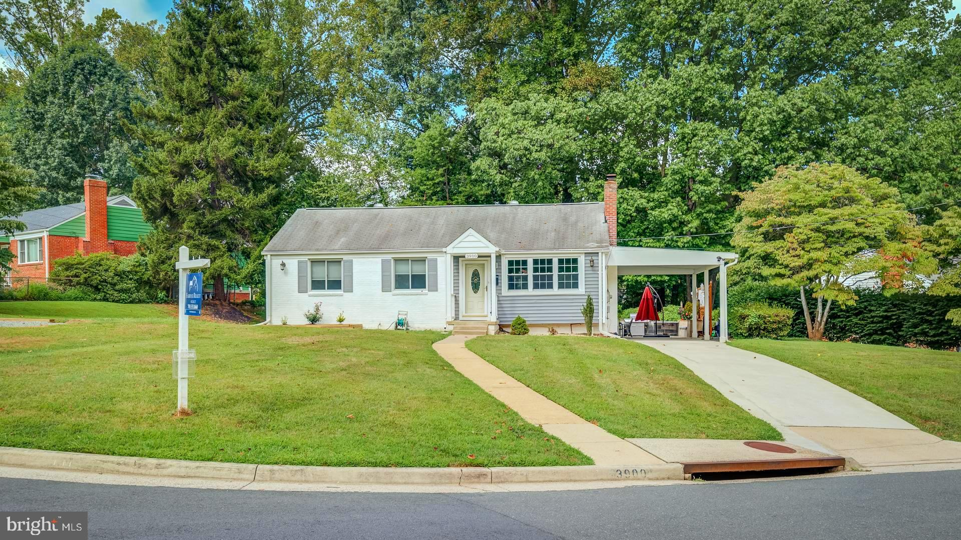 Excellent location.  Meticulously remodeled Rambler.  Inside the Beltway.   Close to I-495, Columbia Pike, and I-395.  Shopping, dining, Mosaic District.   The home is a morning delight.  Beautifully lighted with ample natural light.  Adjustable recessed lights throughout in order to brighten up as desired.  Attic fully finished with Central fed AC, recessed lights and carpeted~ Ingenious permanent staircase to the attic!.  USB equipped power outlets.  Basement fully finished, recessed lights, gorgeous full bath and own entrance from the patio.  HVAC Replaced less than 12 months ago, AC Unit replaced 3 years ago.  Electric wiring and plumbing also replaced.  Easy to navigate kitchen. Flawless transition from kitchen to a fully windowed dining room with AC vent for a confortable and fabulous Natural light dining experience~Dining room harmoniously integrates outside living via French door access to the patio~Patio!.  Mature trees block sunlight after 3:00pm, making the patio an exciting retreat.  And of course, Grilling enthusiasts will appreciate the double valve gas fed system coming from the house for a delightful Grilling experience~This home is a MUST SEE!!!