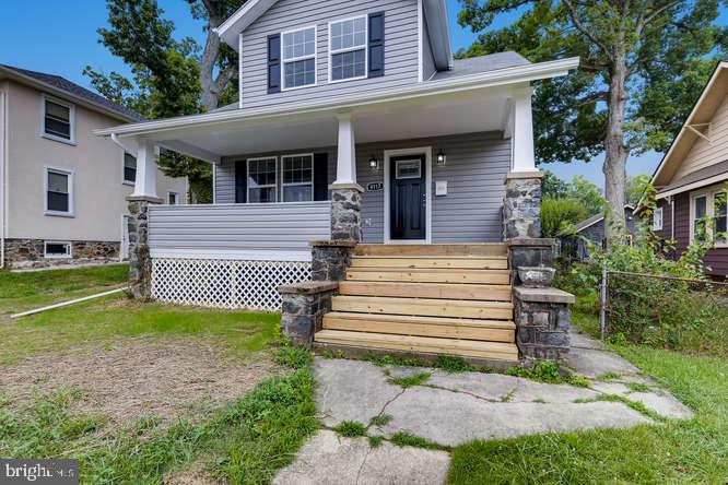 This Beautifully Renovated Cape Cod style single family located has all the quality you are looking for. This 4 bedrooms and 2 bathrooms home been thoughtfully updated with modern twist.  Main Level master suite. The living room features hardwood floor through-out and a brick fireplace. It also features a gourmet kitchen with stainless steel appliances and more!
