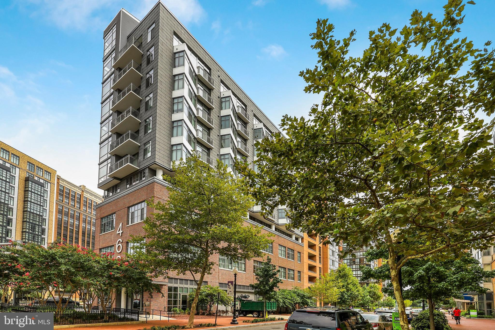 One bedroom in sought after Mt. Vernon Triangle! Top-to-bottom AND bottom to top black out shades with lifetime warranty. Walk-in-Closet. Unit features Nest thermostat, carbon monoxide, and smoke detector. Entire unit freshly painted. In unit washer and dryer. 13+ foot ceilings! Rooftop deck with fire pit, BBQ grill, views and a lounge/party room. Large storage cage included. Only steps to Mt. Vernon metro, Safeway, and plenty of shops and restaurants.