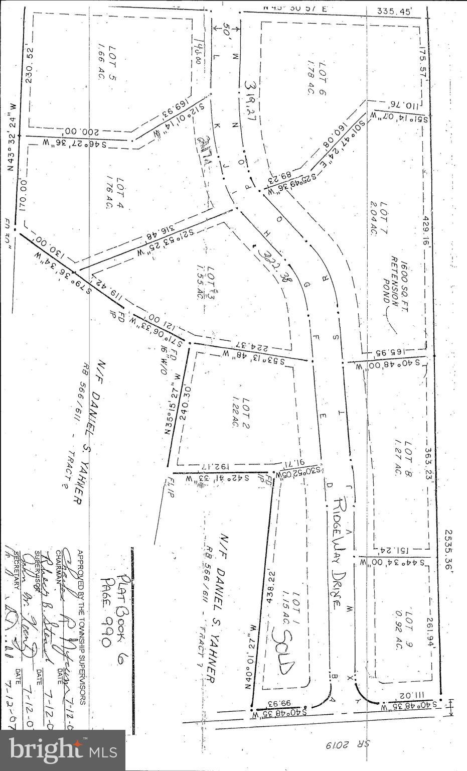 Lot #6 RIDGE WAY DRIVE, EVERETT, PA 15537
