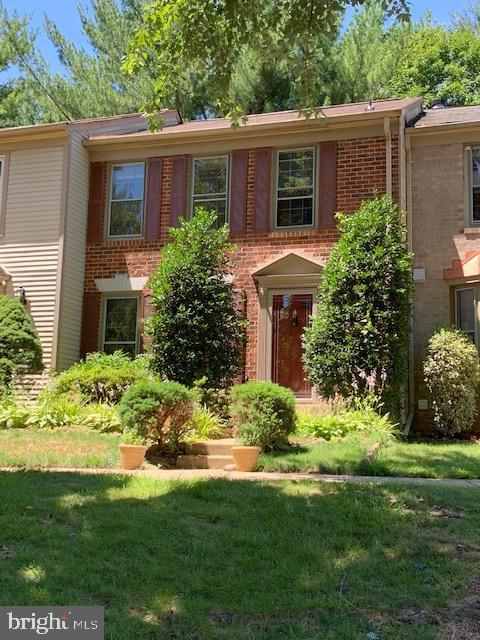 """Property being sold """"AS IS"""". See attached special addendum. House needs TLC. Brick front Townhouse that backs to common area. Shady rear deck with fenced in backyard. Great community and amenities, close to everything."""