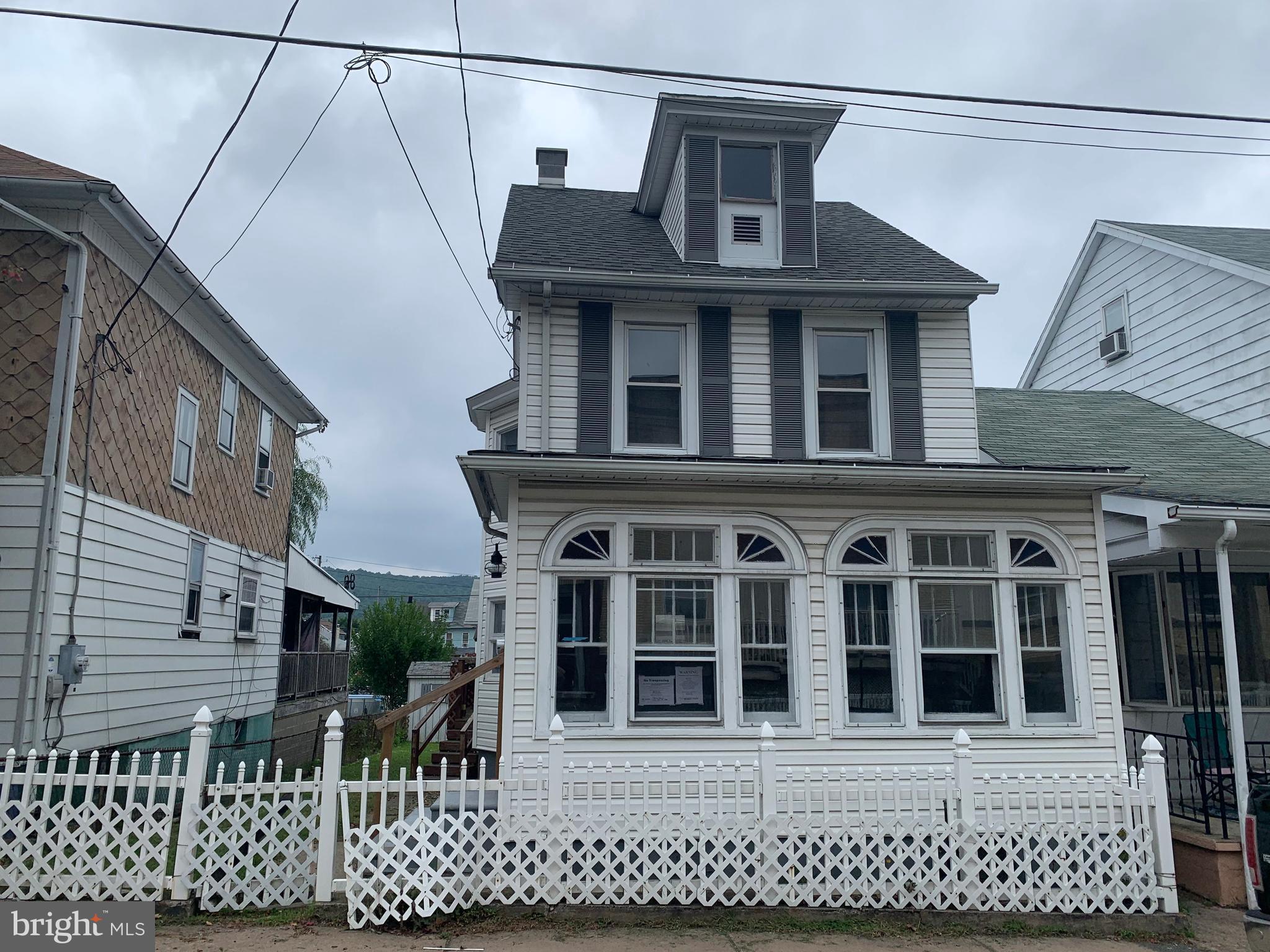 1143 FERN STREET W, COAL TOWNSHIP, PA 17866
