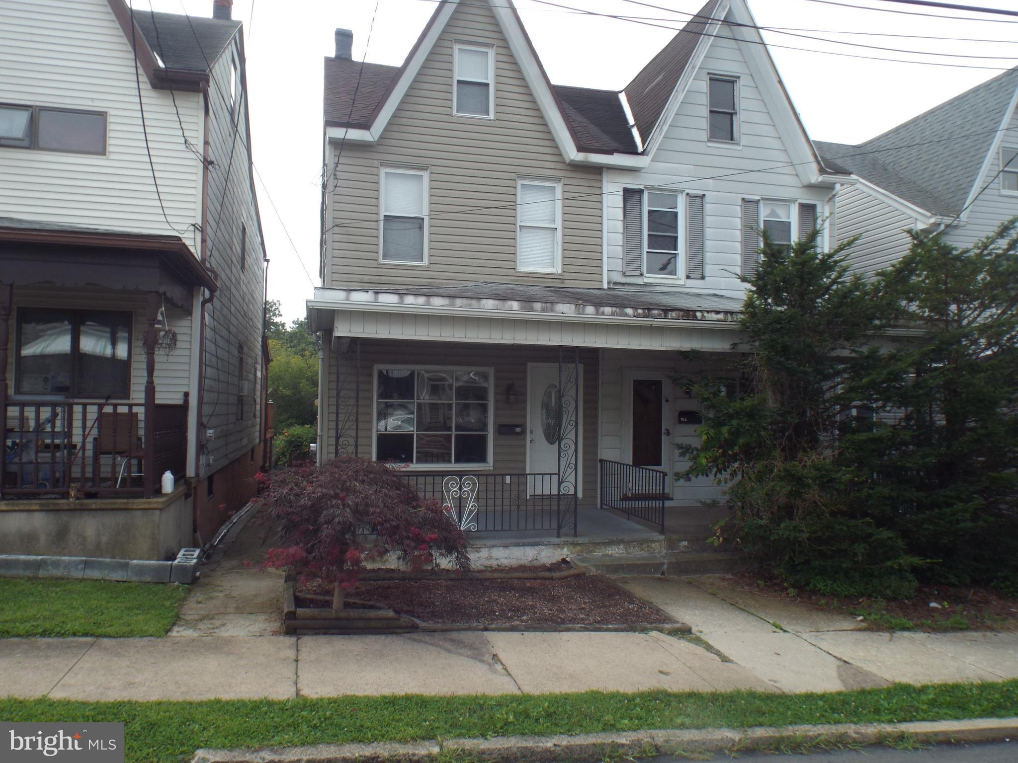 524 CHESTNUT STREET W, FRACKVILLE, PA 17931