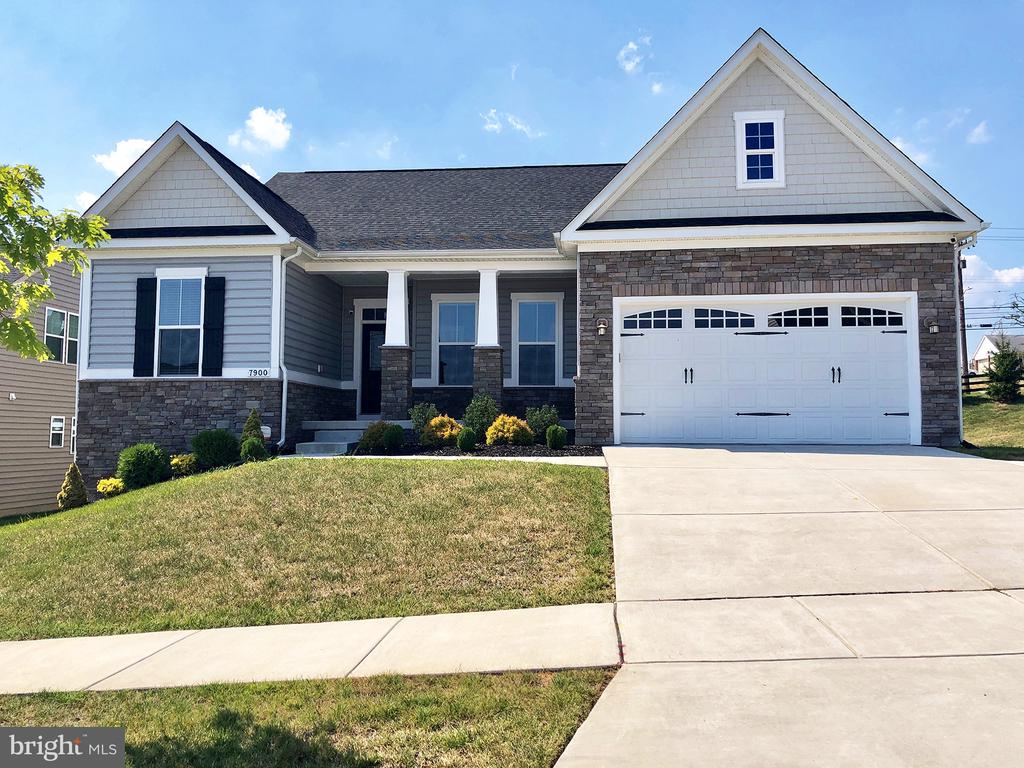 Rarely Available McNeal Farm's Home! LIKE NEW 4 Br 3 bath Home with a 2 Car Garage. Convenient to Everywhere! Must be seen! Looks like a model Home never lived in! One Level Living at its Best! The pictures tell all! Huge Island Kitchen w/ SS appliancesPlus 'Insta-Hot' hot water, never run out of hot water! Sunroom/Dining Room off Kitchen w/ French Doors to the Maintenance Free Deck! Garage has the floors epoxy-painted as well as the walls and ceiling. Fully Finished Lower level with 4th Bedroom and Full Bath! (In-Law potential!) Open Concept Home Perfect for Entertaining! Custom Closets! Move in Ready!