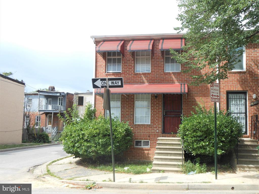 Great opportunity for Investors! This property is End of a townhouse with 3 bedrooms and 2 full baths in West Baltimore. Spacious living room and dining area. Large deck and fenced back yard. Sold As-Is. A Hold Harmless will need to be signed by all potential buyers and emailed to the Listing Agent before entering the property for viewing/inspection.