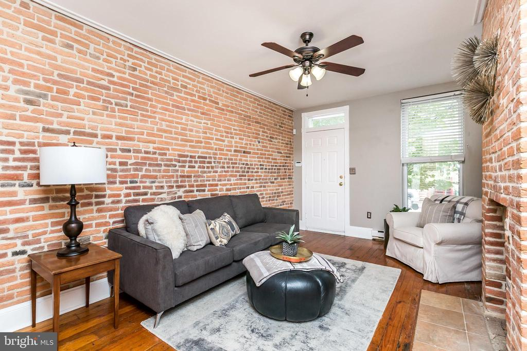 Located at the crossroads of Canton & Fells Point, this home is within an easy stroll from the popular, charming Fells Point waterfront, Canton, and just 1 block to beautiful Patterson Park. The 1st floor has an open floor plan with unique architectural features, a living room, dining room, and large eat-in kitchen leads to a charming rear courtyard. The 2nd level has 2 large bedrooms and a conveniently located central hall full bathroom. The 3rd level has another large bedroom, the 2nd full bathroom, and the laundry room. The lower level is finished and is the perfect spot for storage. With 3 similarly sized bedrooms and a smart layout, this is a truly wonderful home that has been updated & maintained with care that is awaiting its new residents to move right in and enjoy!