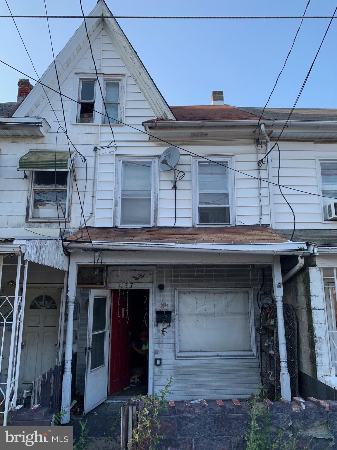1137 W PINE STREET, COAL TOWNSHIP, PA 17866