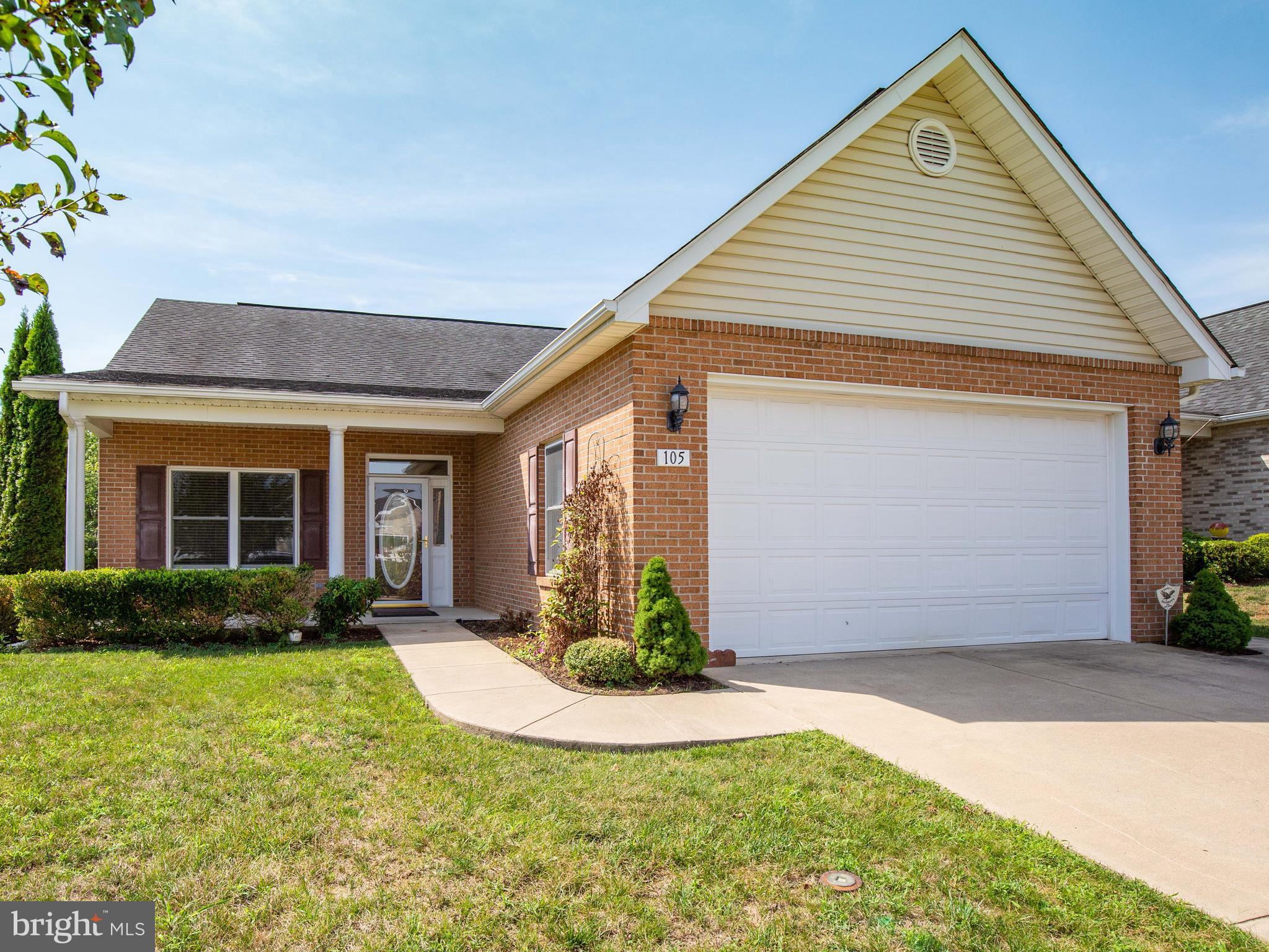 105 SARVIS Ct, Stephens City, VA, 22655
