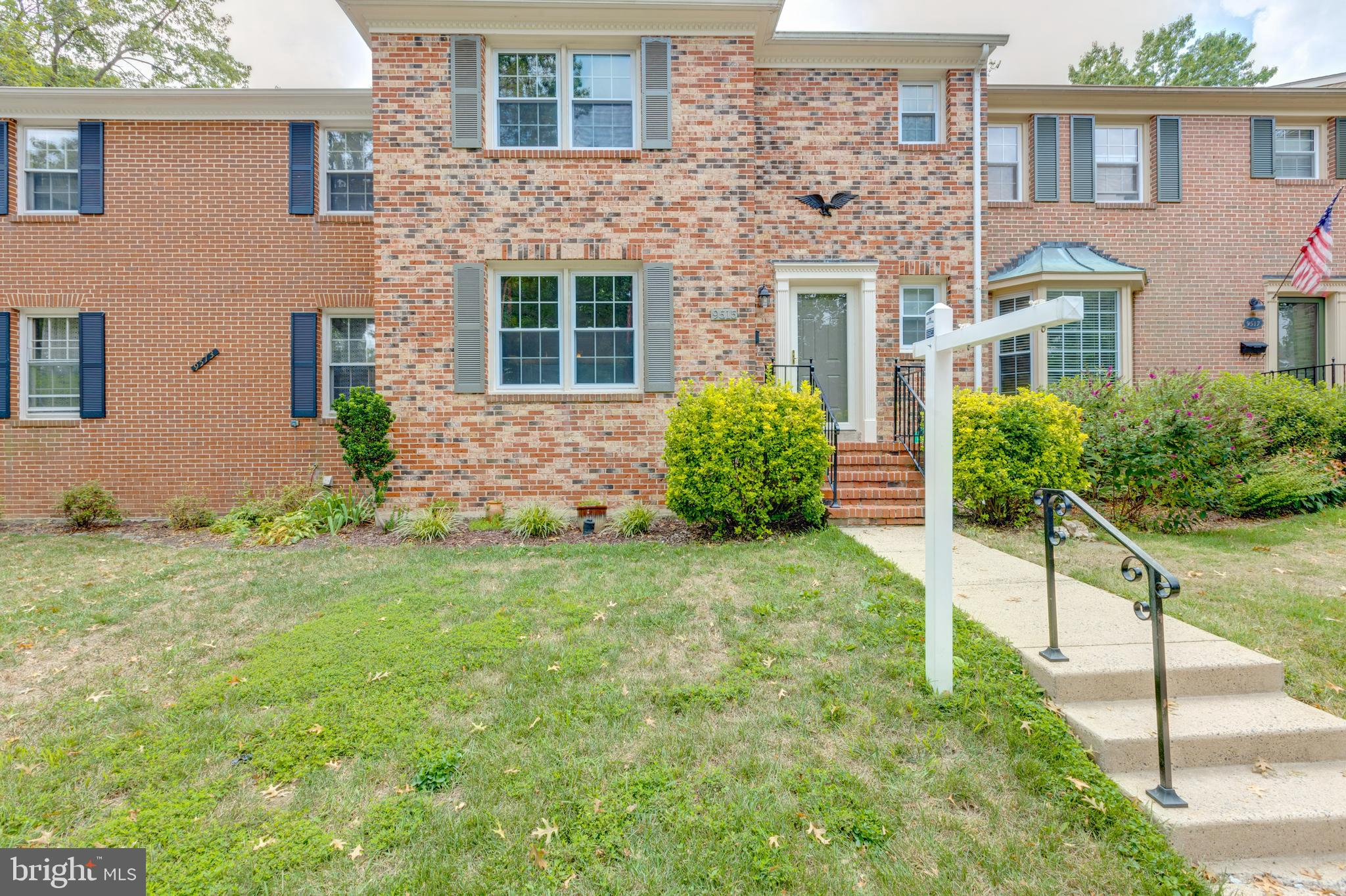 Come see this beautifully updated spacious town home. From the large back yard to the open and updated kitchen. All that's left is to move right in. Enjoy 3 spacious bedrooms upstairs, hardwoods and tile on the main floor and a huge open basement with wet bar and fireplace.  We have it all! Fantastic convenient location just off of the Fairfax County Parkway.