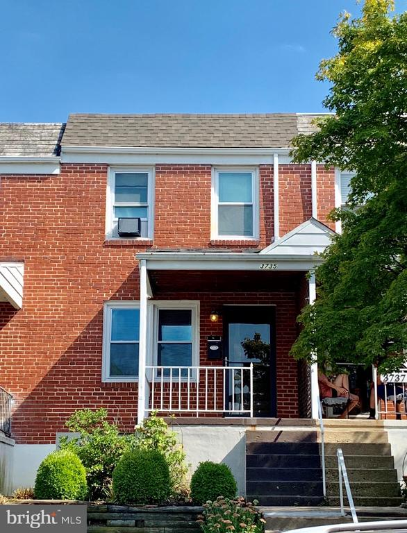 Live comfortably in this fully updated 2bed, 2bath townhome on a quiet street located minutes away from I95 and downtown Baltimore. Wood floors throughout. Updated kitchen with granite countertops. Finished walkout basement.  Front and rear porches.  Large Fenced backyard with room for parking and easy main floor access. Book your tour asap. This listing won't last.