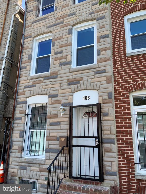 103 and 105 s Carey Both renovated from the ground up. All New Electric, Hvac (central air and heat), plumbing, drywall, appliances , granite, flooring, bathrooms, fenced rear yard and much more