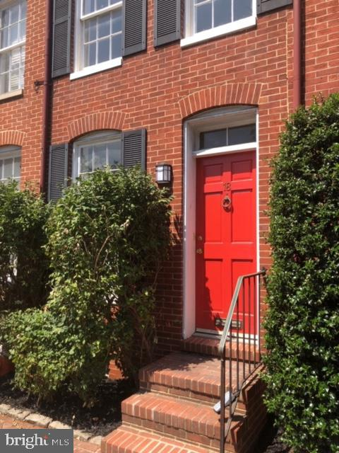 BEAUTIFUL  RENOVATED 3 BEDROOM TOWNHOUSE WITH TWO FULL BATHS, RESTORED WOOD FLOORS   LOCATED ON POPULAR MONTGOMERY STREET . DECKS OFF EACH LEVEL AND PATIO OFF THE KITCHEN .  JUST READY FOR YOUR PERSONAL TOUCHES