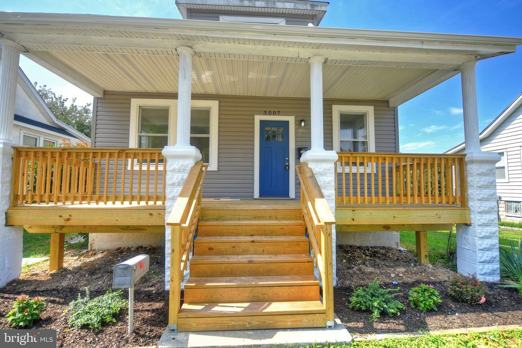 Come see this renovated 4 bedroom 3 bath cottage in WoodHome Heights a stones throw to Parkville.  This home is grant eligible for MMP 1st Time Adv.  MMP Flex & MD Smart Buy Details about these       programs are in the docs viewable to everyone or    you can contact me Ed Healey 609-203-2299 for           more info.