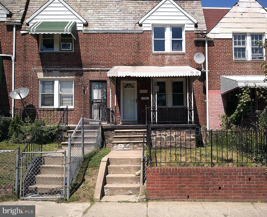 Check out this porchfront sold brick rowhome in St Joseph's neighborhood. Enjoy spacious room sizes, wall to wall carpet, nice kitchen with breakfast bar separate dining room and attached garage at rear. The full basement has plenty of living space and storage. Easy access to route 40 and Edmondson Shopping Center.