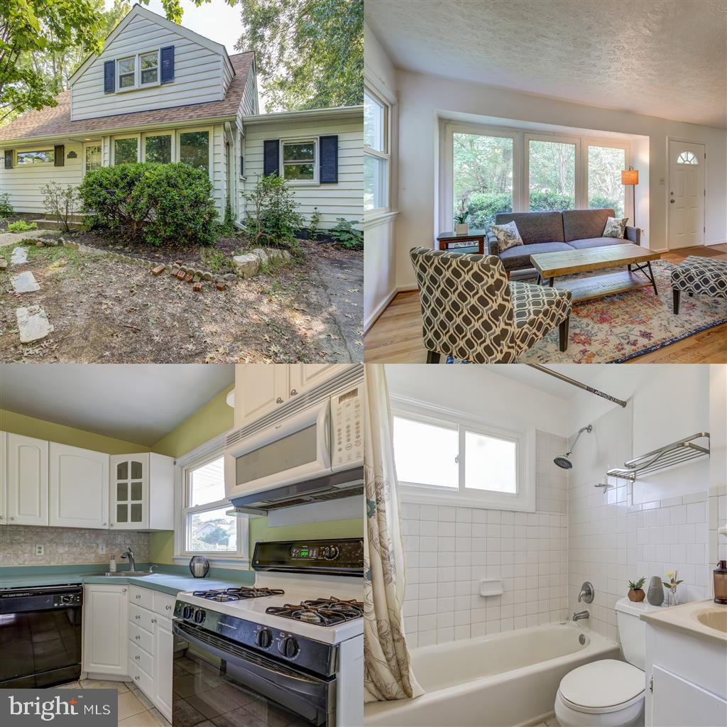 This charming Cape Cod has a brand new roof and the A/C, furnace and hot water heater have all been replaced within the past year. Beautiful hardwood floors throughout and a fully fenced in backyard. Close to schools, shopping and Alexandria recreation facilities. House is being sold mostly as is so seller will do only minor repairs.