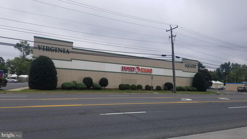 Excellent opportunity for investor seeking a shopping center with 2 national tenants (Family Dollar & Rent-A-Center) plus space for future development.  12,094 sf retail and 12,626 sf warehouse.  1.82 acres with great visibility and 300 ft frontage directly on US Route 13 Business with high traffic count. Parking for approx. 100 vehicles. LED monument sign. Gross income $138,900 with projected increase to $176,700 with leasing of warehouse.  Dry fire sprinkler system throughout building. Warehouse has ceiling height from 14 ft to 19 ft. Two overhead doors plus entry doors to main parking lot and to rear parking lot. Opportunity Zone tax benefits available. Sale includes 4 separate parcels. Current Cap Rate 6.2% projected to be 8.6% when warehouse is leased up.