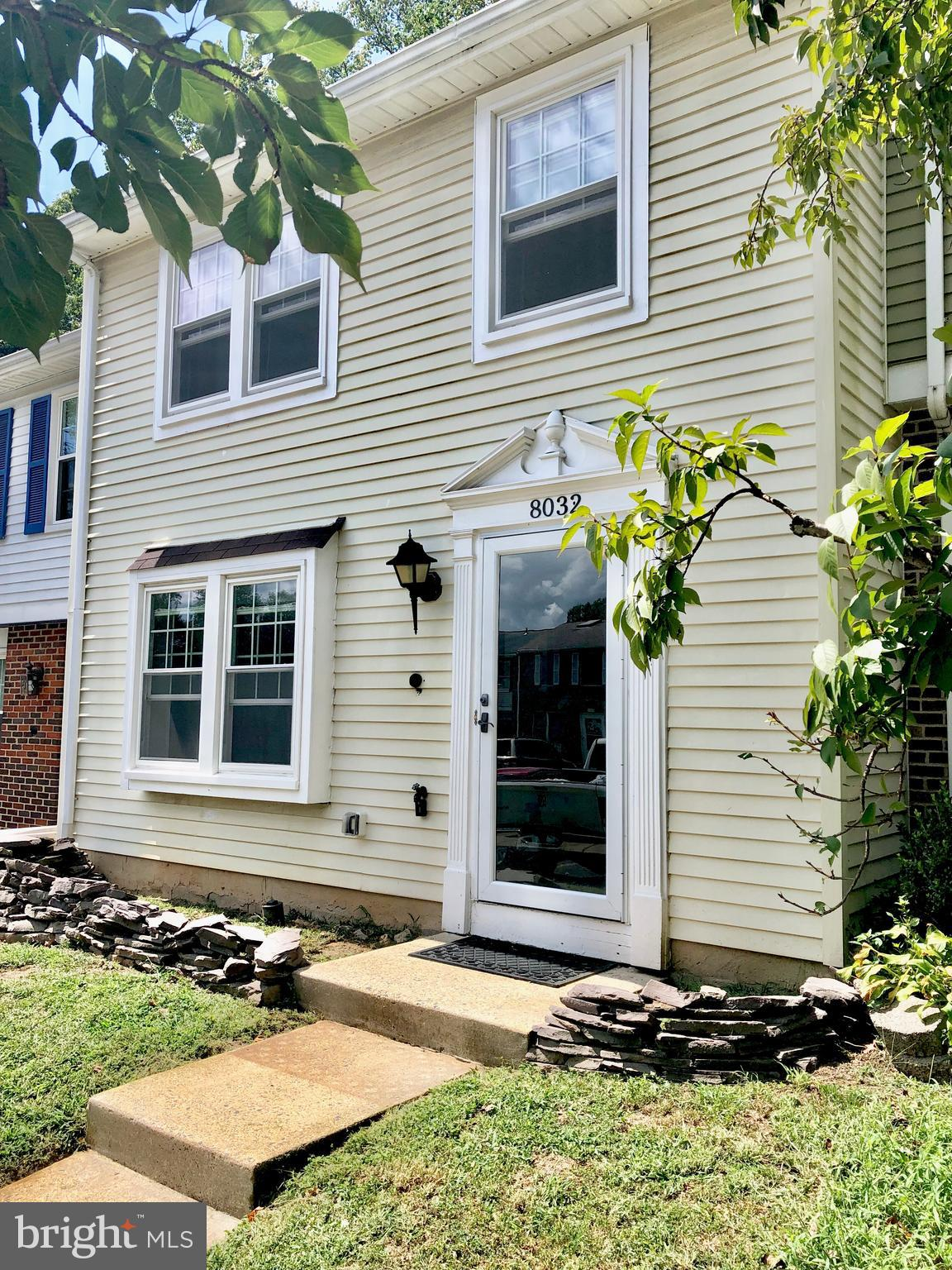 Beautiful, move-in-ready townhome in Newington Forest. This spacious 3 bed 2 bath home features a lovely updated kitchen with solid wood cabinets, granite counters, stainless appliances and under cabinet lighting.  Escape to the fully fenced back yard where you can enjoy grilling on the deck, relaxing by the stone fire-pit and best of all, entertain your friends and family around the custom Tiki-Bar.  Updated bathrooms, fixtures, and 3 year old vinyl windows.  HVAC and water heater also updated. Carpet and paint less than 3 years old.  This home is a must see and priced to sell quickly!