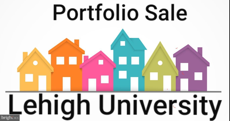 7 BLDG STUDENT HOUSING PORTFOLIO, BETHLEHEM, PA 18015