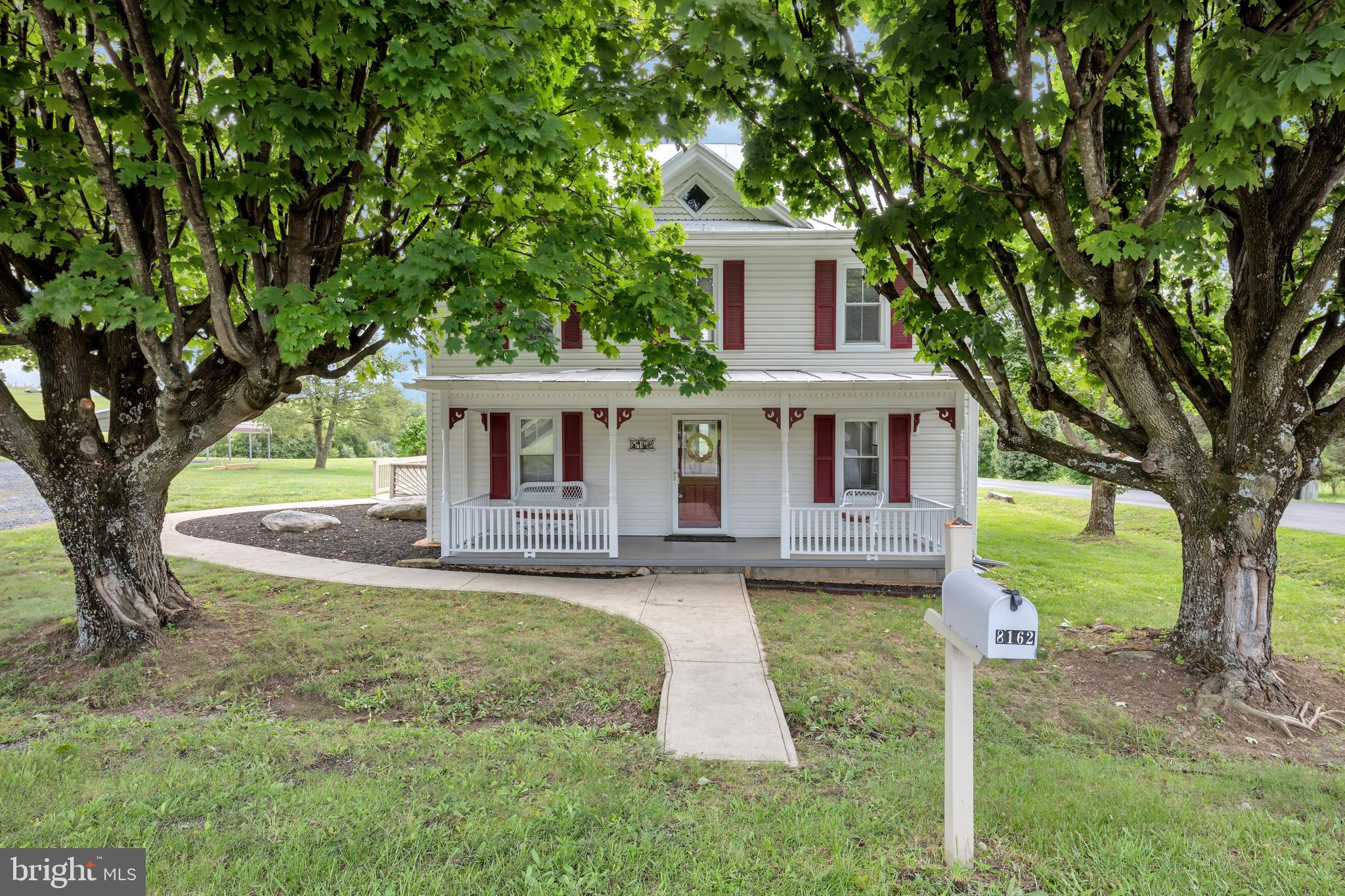 8162 BACK ROAD, MAURERTOWN, VA 22644