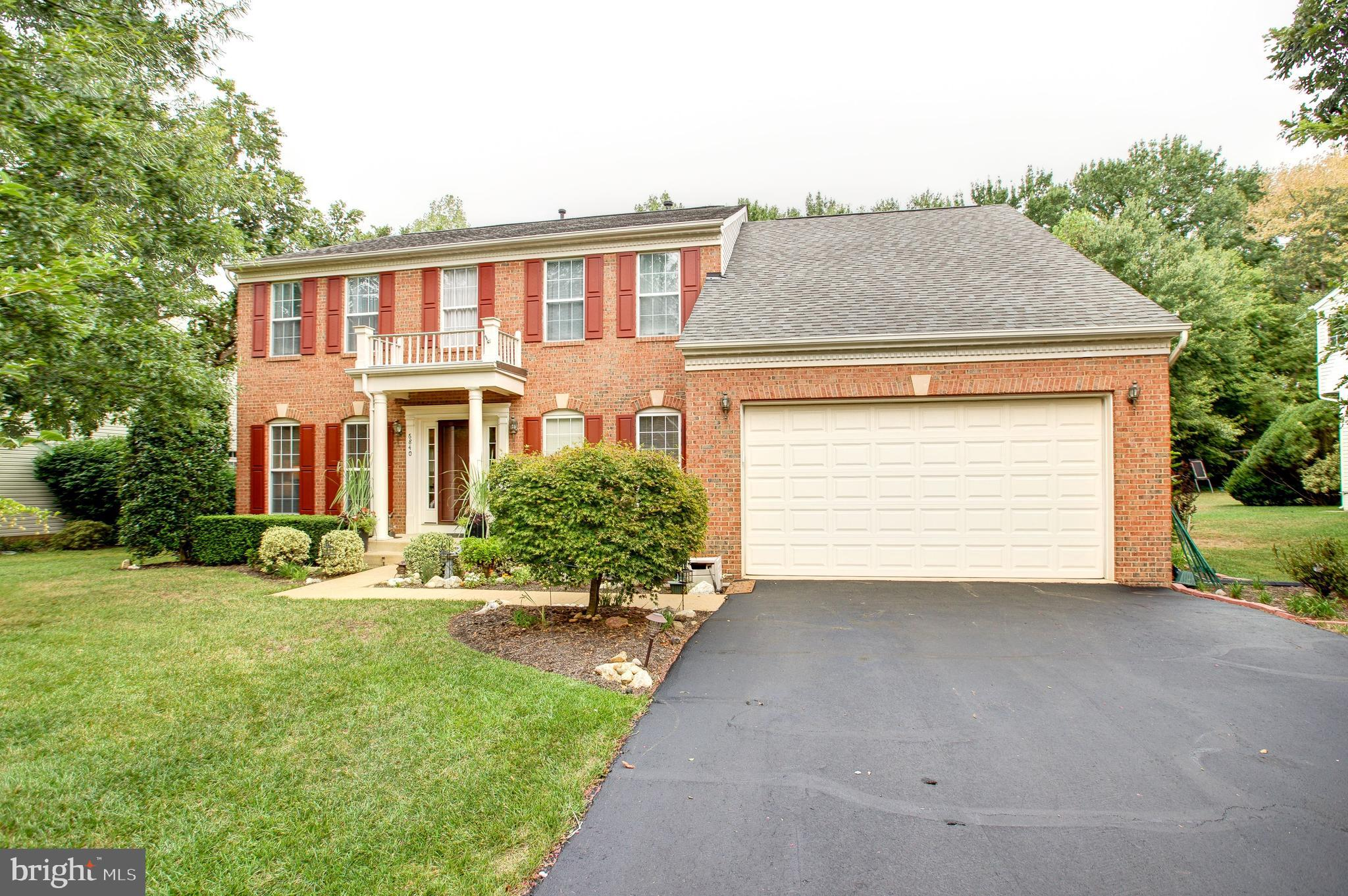 Don't miss this beautiful, brick front colonial tucked away on a quiet cul-de-sac! 6840 Corder is located on a large lot (0.4 acres) backing to an abundant wooded area and as you enter the home, you'll find even more exquisite features! The entryway features a 2 story foyer leading to a stunning open kitchen with an island, table space and a one-of-a kind living room with gleaming acacia hardwoods and vaulted ceilings. The separate dining room and deck off the kitchen make this home an entertainer's dream! Upstairs, you'll find a stunning master suite with spa like baths, acacia walk-in closets, and a remodeled second bath. The basement has rough-ins for a potential additional bathroom or can be used for all of the storage you desire. Gardeners will find a backyard and stone patio brimming with possibilities. This home is also ideally located minutes from FFX County Parkway, I-95, Fort Belvoir, and Kingstowne +Springfield Towne Centers. Schedule a tour today!