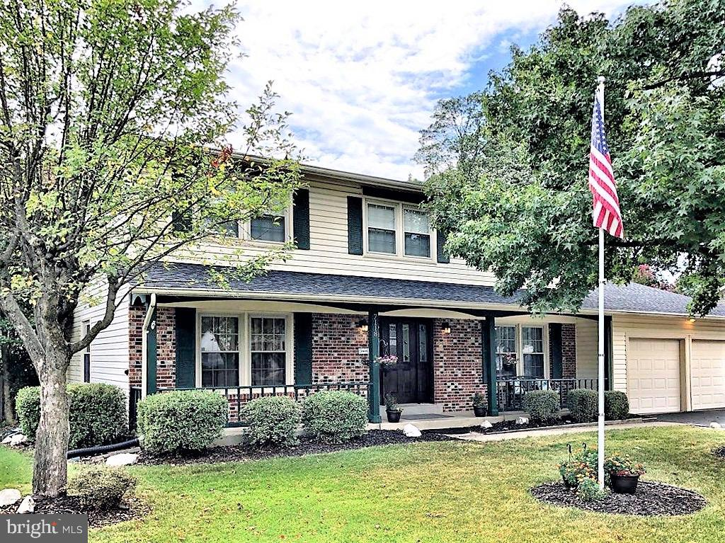 Southern Charm abounds in this Peaceful Home surrounded by a Front Porch, Trees, Fenced Yard, & Sun Porch off the Family Room. A Welcoming Foyer Features Hardwood Floors that Run Throughout the Entire 1st & 2nd Floor. The Master Bedroom offers an En Suite Bath along with His & Her Walk-in Closets!!Complete with a Fireplace, Finished Basement, Movie Room, & Space for Storage, this is the perfect place to call Home.
