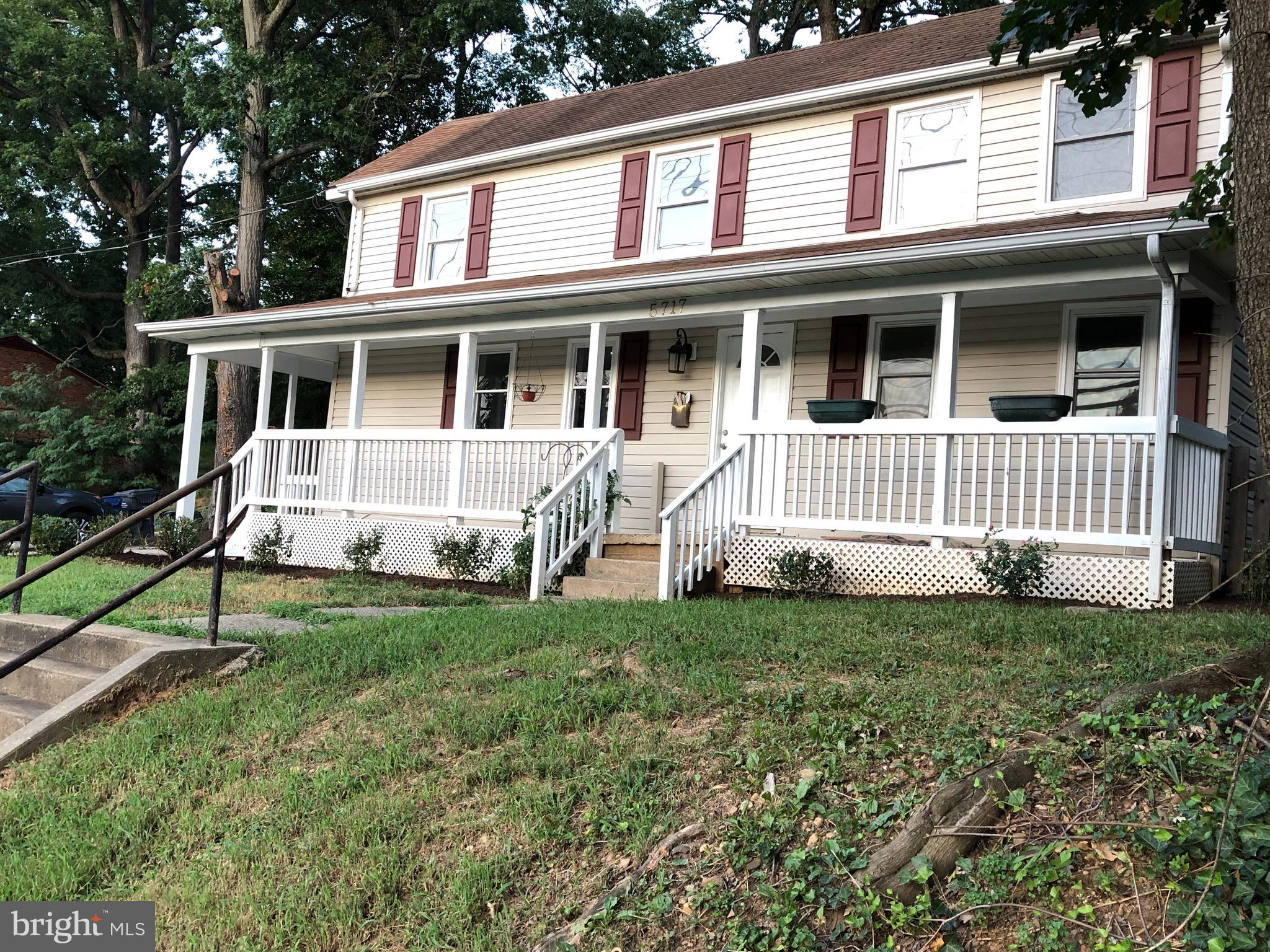 Location, Location, Location!4 bedrooms, 3 levels, SINGLE FAMILY HOME with front porch - just minutes to the heart of it all and priced to SELL!!        Walk to Metro, mins to Crystal City, Amazon HQ and National Harbor, Hop on 95/495 beltway in seconds, 5 mins to Old Town, 5 miles to Arlington, DC 8 Miles, Walk to the grocery store or stroll to the park, just minutes to major retail shops, restaurants, urgent care, and much more!New Water Heater 2019!,New Sump Pump 2019!,New Flooring 2019!,New Insulation 2019! Professionally painted and Landscaped, space for your vegetable garden or flower beds!New Roof and HVAC and concrete driveway in 2015!Storage shed,Partial Unfinish basement fenced yard, bring your pet!Screaming  Value *** Don't miss this one ***See the house sold blocks away VAFX1056684