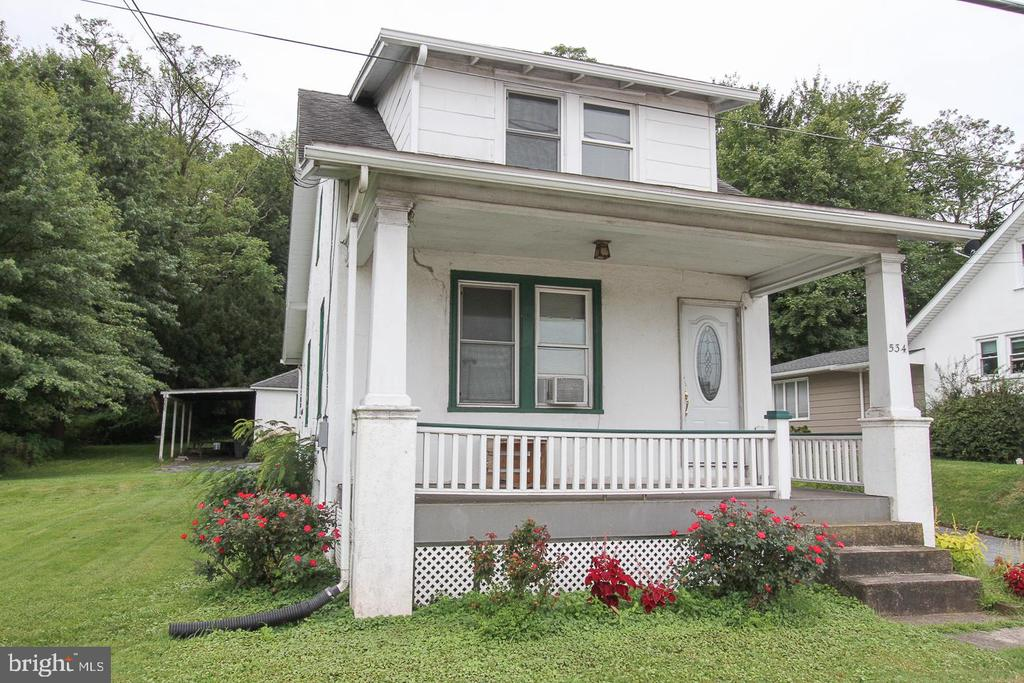 Great opportunity to own this property with high visibility located across the street from the Coventry Mall, along Rt. 724 and just off the Rt. 422 and Rt 100 interchanges.  The property is zoned Town Center and provides for great commercial usage.  There are replacement windows and newer asphalt shingle roof (2008-9), updated 100 Amp CB, well water and public sewer