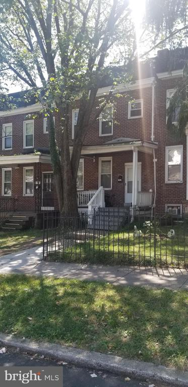 Looking to add to your portfolio? Well, check this home out. Long term tenant in place currently paying $1300. Home sold As Is part of a package of 10 homes being sold individually or together throughout Baltimore City. Buyer to verify ground rent if one exist, Seller will not  redeem.