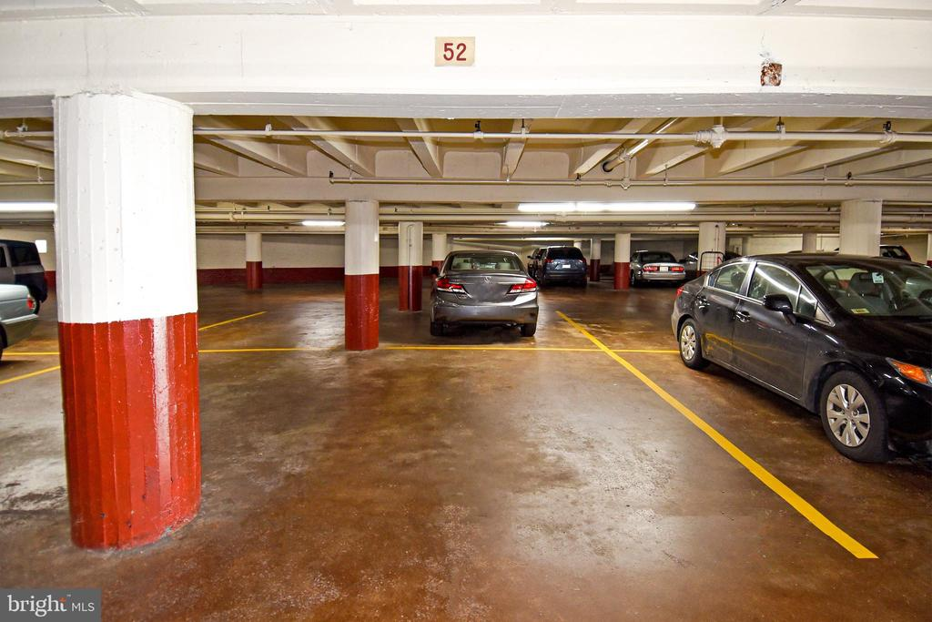 Separately deeded parking space for sale at the Gateway Georgetown. This is a prime space located near the building entrance and garage exit. This parking space can only be purchased by Georgetown Gateway condo owners.