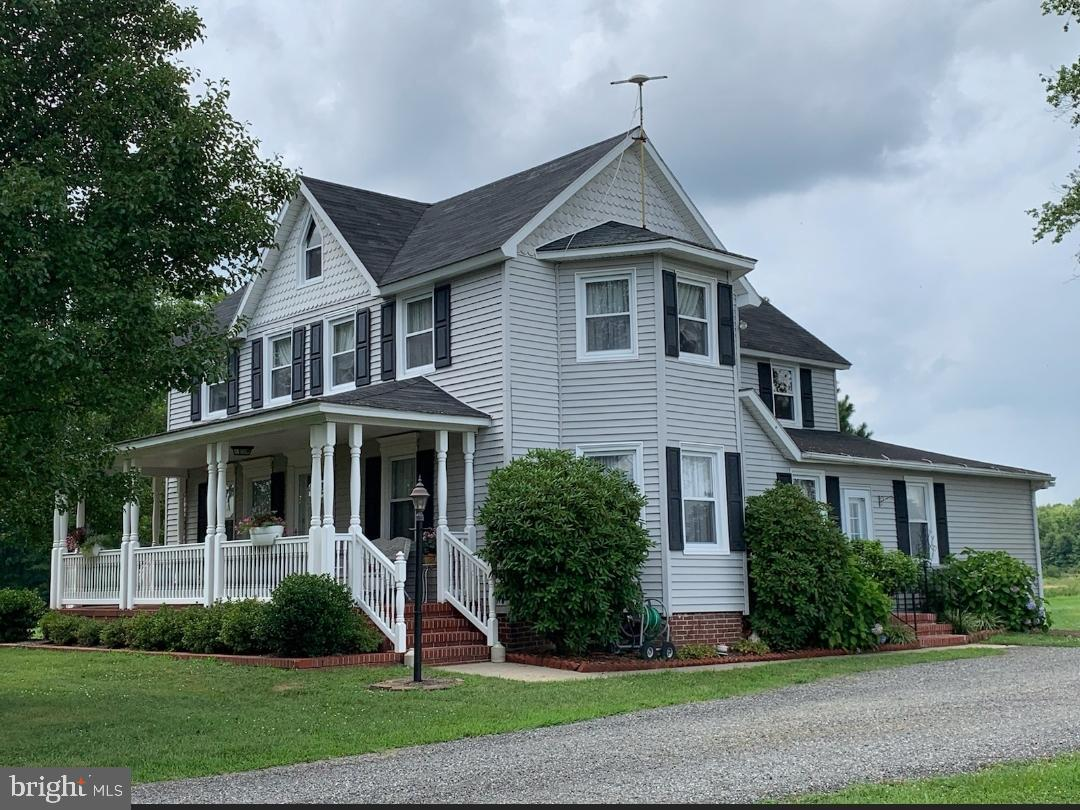 01/30/2020, SELLERS HAVE JUST INCLUDED A $15,000.00 CREDIT TO THE BUYER.CREDIT TO BE USED AT BUYERS DISCRETION. UPGRADES ADDITIONS ETC.  New Septic system has just been completed PRICE JUST REDUCED on this beautifully well maintained farm house on 1.7 acres of land. surrounded by 200 acres of designated non developed land for 90 years. Maintenance free exterior. inviting fully covered front porch with southern charm. A full deck in the rear of the home with gazebo round out the exterior. Large Living room with a formal dining welcomes you in this warm farm house. A large eat in kitchen has ample space for family gatherings. included downstairs is a office, and over sized laundry & mud room. Finally a full bath completes the downstairs. 4 ample size bedrooms upstairs allows for large family living. A full attic provides ample storage. Outside a 2 car garage with its own   separate 100 amp service. Many upgrades included in this home a brand new septic system is currently being installed. Fresh carpets, in living and dining room. Many rooms have hard wood floors beneath carpets. This is a must see and priced to sell. put this home on your showing list. Do not forget to view this gorgeous home with the attached video matterport