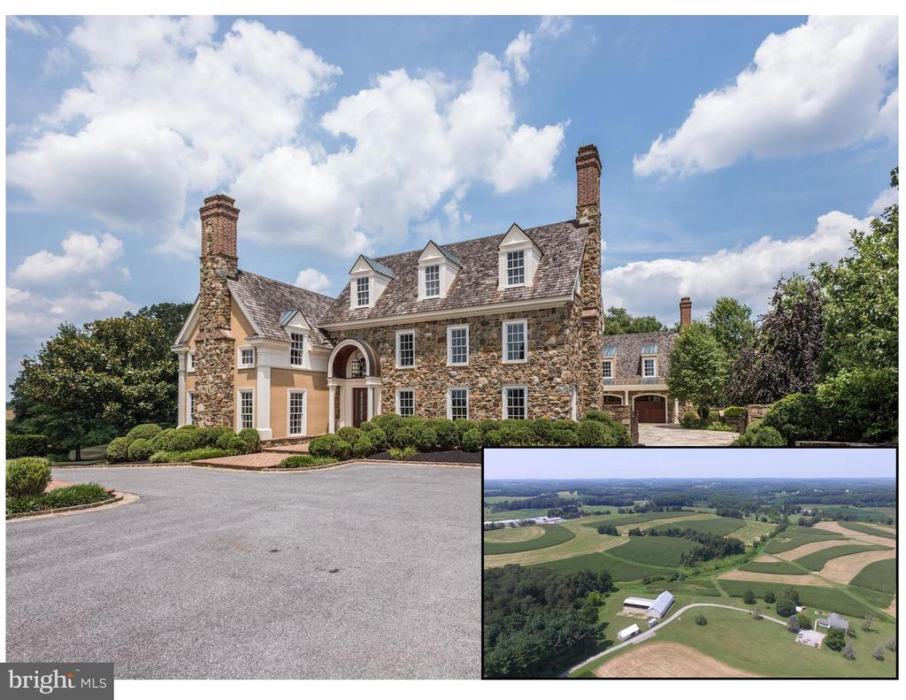 FARM PURCHASE MUST INCLUDE THE PURCHASE OF THE 3618 MT CARMEL RESIDENCE WHICH IS INCLUDED IN THE LIST PRICE!  FEW HOMES BOAST THIS LEVEL OF ELEGANCE AND EUROPEAN FLAIR, BUILT WITH THE FINEST MATERIALS AND ARCHITECTURAL DETAIL, THERE IS NO MATCH FOR THIS SOPHISTICATED CUSTOM BUILD AND ORIGINAL 1934 STONE HOME! 144.00 ACRES ADDED TO THIS SPECTACULAR MANSION, MAKES ONE OF NORTHERN BALTIMORE COUNTY'S LARGEST PARCELS OF BEAUTIFUL, PROTECTED FARMLAND A FABULOUS DEAL! PRICE INCLUDES TWO BUILDING LOTS, A FARMHOUSE (1884), A REFURBISHED BANK BARN, A MACHINE BARN AND A TRACTOR BARN! TOTAL ACREAGE IS INCLUDING THE FARM.  THE MANSION AT 3618 MT CARMEL MAY BE SOLD SEPARATELY FOR $1,790,000.