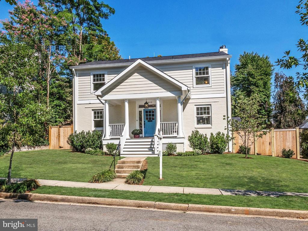 MUST SEE! NEW LOOK! NEW PRICE!Superb, head-to-toe renovation and expansion, with an open concept floor plan, perfect for contemporary living. All new systems and luxurious finishes throughout provide 3,795 finished square feet of living space! Five bedrooms, 4.5 baths, gorgeous gourmet kitchen, mudroom, main level study/den. Generous sized bedrooms, including owner suite, all have access to brand new bathrooms. Expansive lower level with family room and fireplace, legal bedroom, full bath, and charming studio. Private outdoor patio, rear yard, and an oversized one-car garage. Prime location in Chevy Chase, DC, less than one mile to Metro.